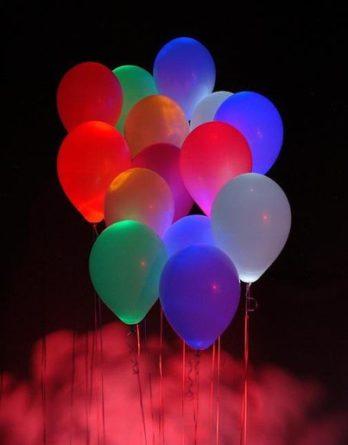 Светящийся гелиевый шар