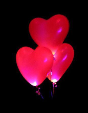 Сердце с подсветкой