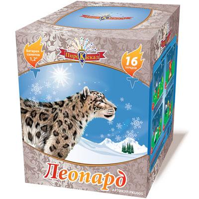 Фейерверк леопарт 16 зарядов