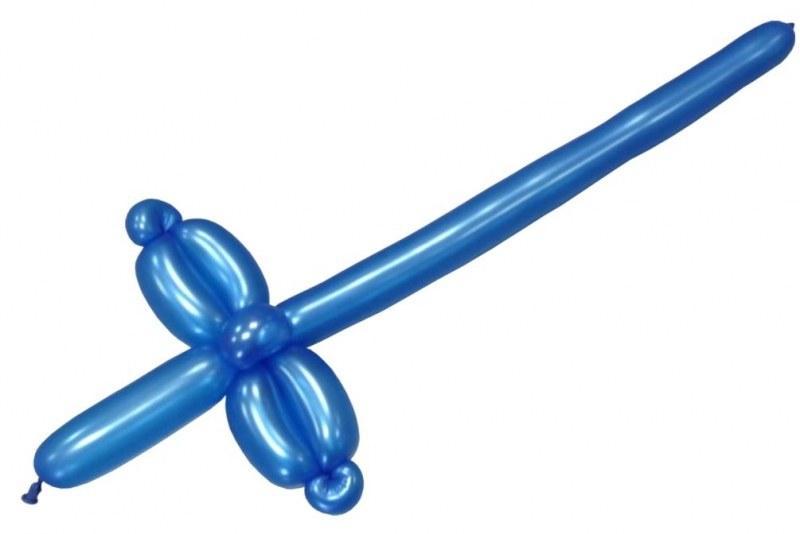 Как сделать из меч из шарика колбаски схема 749